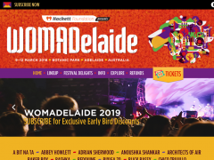 WOMADelaide promo code